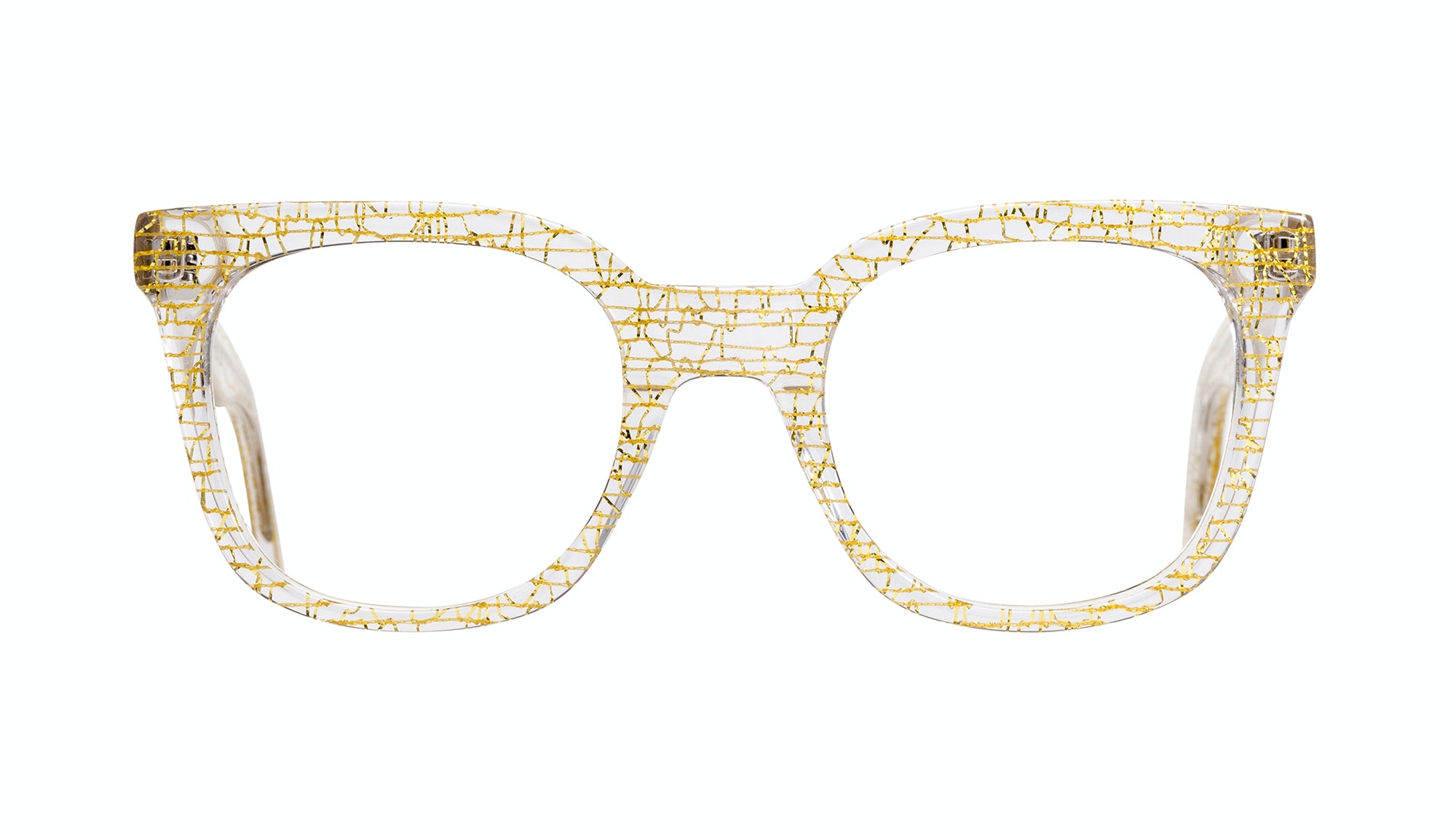 Affordable Fashion Glasses Rectangle Square Eyeglasses Women Jack & Norma Champagne