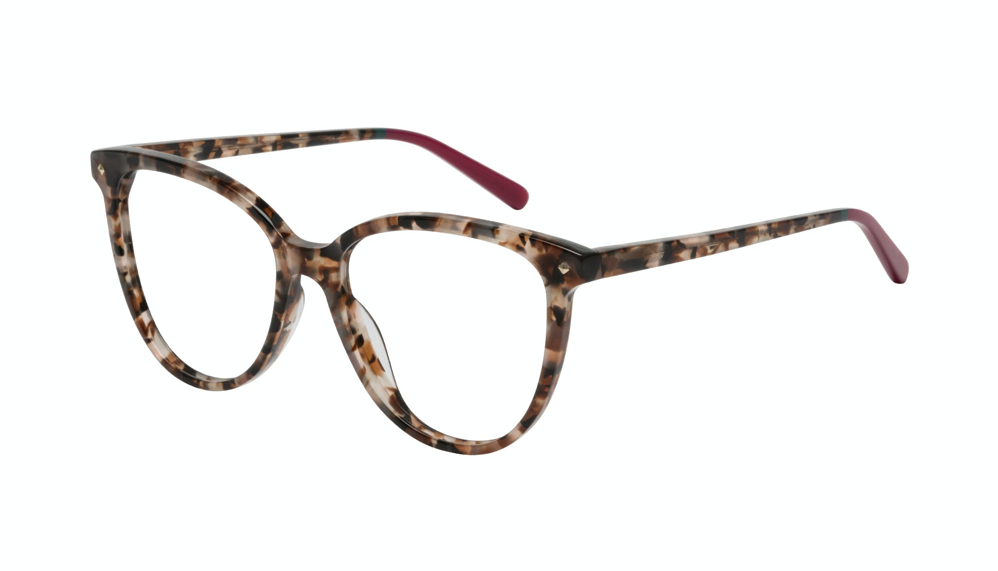 Affordable Fashion Glasses Cat Eye Eyeglasses Women Jane Pink Tortoise Tilt