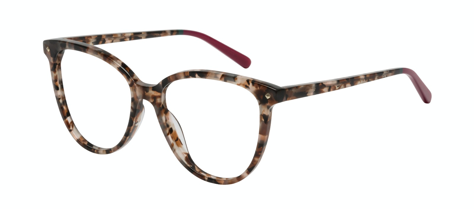 Affordable Fashion Glasses Eyeglasses Women Jane Pink Tortoise Tilt