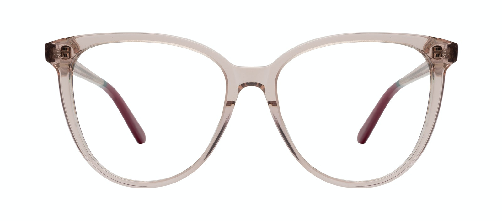 Affordable Fashion Glasses Cat Eye Eyeglasses Women Jane Rose Front
