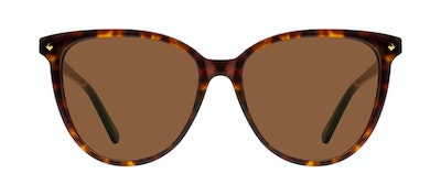 Affordable Fashion Glasses Round Sunglasses Women Jane Tortoise Front