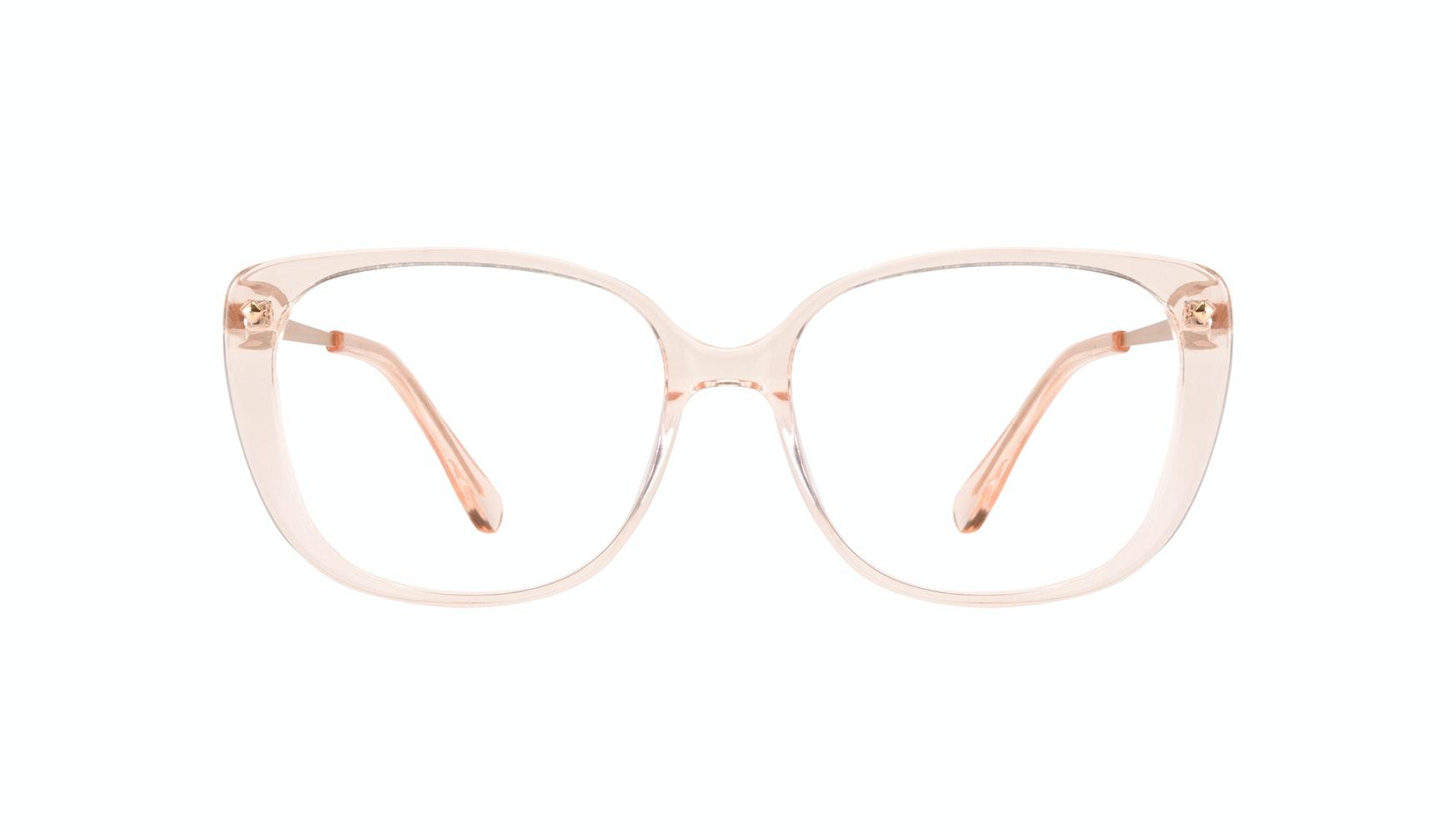 Affordable Fashion Glasses Square Eyeglasses Women Japonisme Blond Front