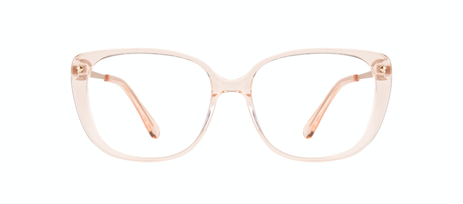Affordable Fashion Glasses Square Eyeglasses Women Japonisme Blond Front