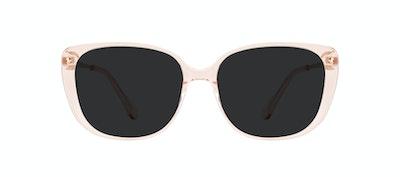 Affordable Fashion Glasses Square Sunglasses Women Japonisme Blond Front