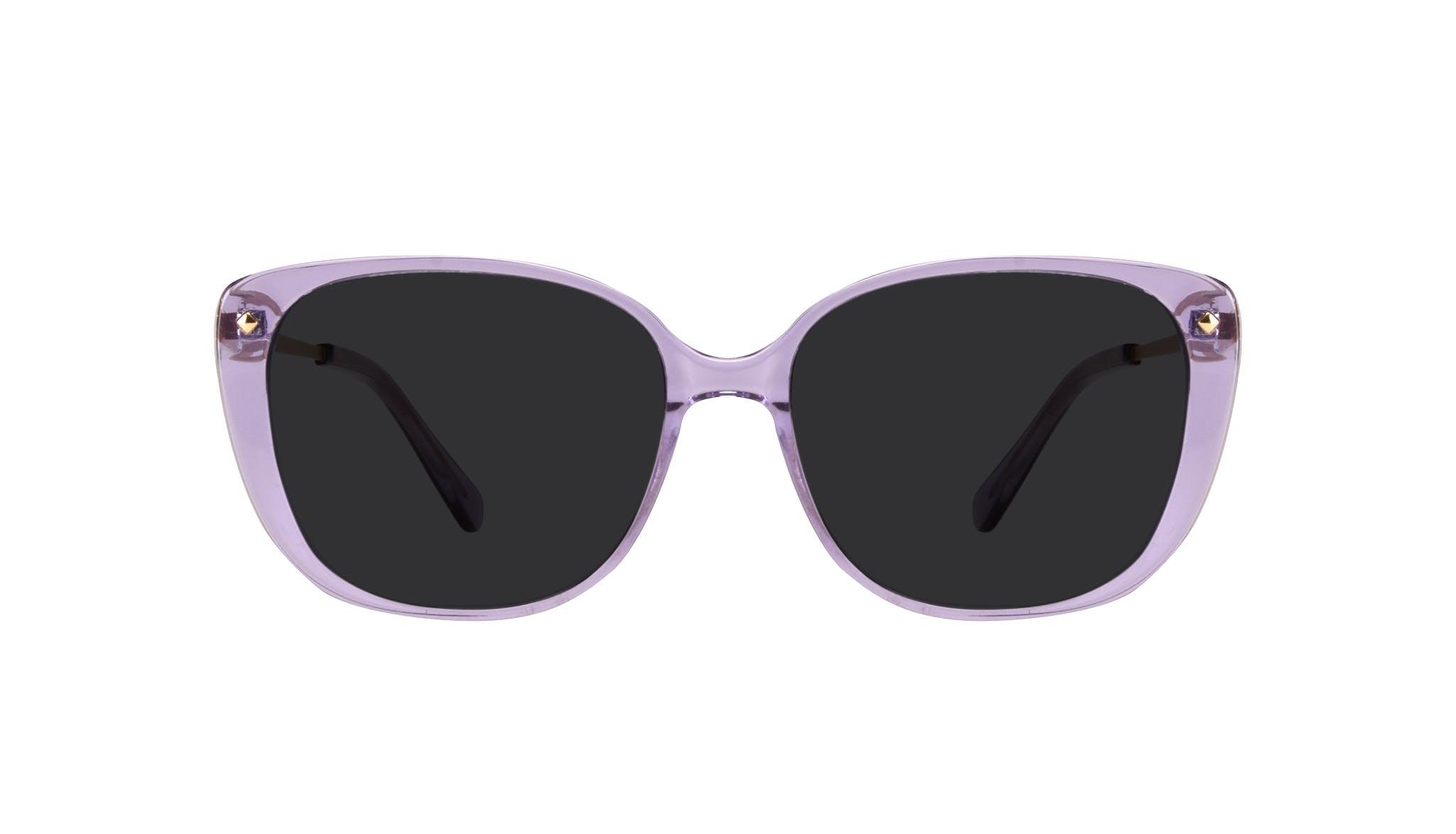 Affordable Fashion Glasses Square Sunglasses Women Japonisme Lavender Front