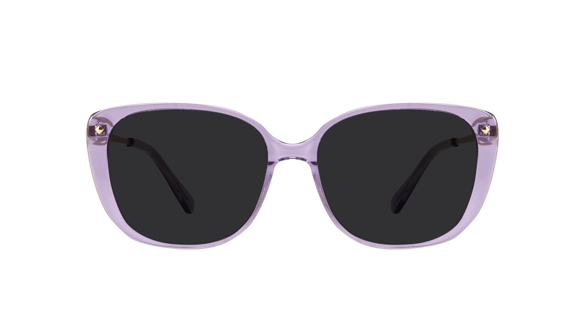 Lunettes tendance Carrée Lunettes de vue Femmes Japonisme Lavender