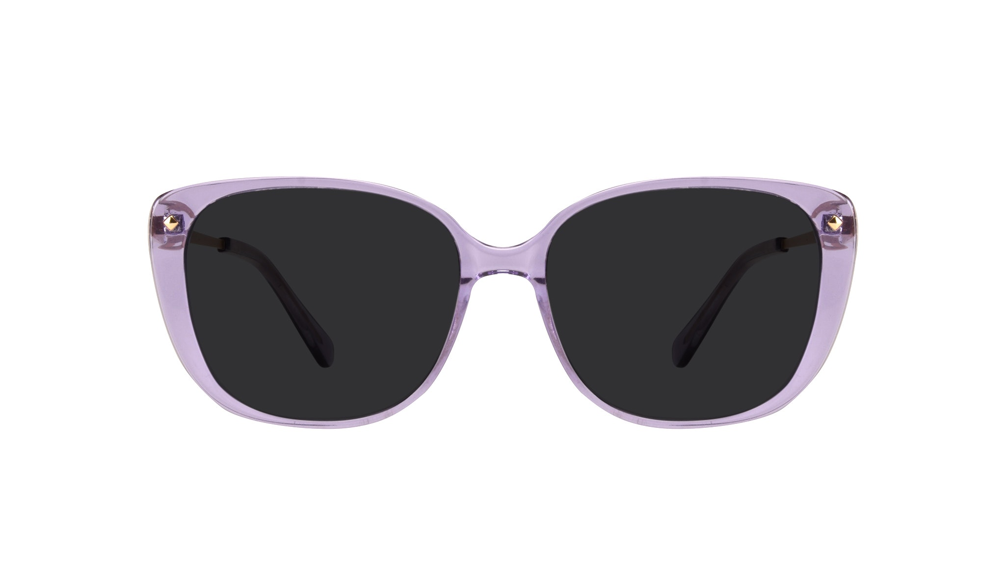 Affordable Fashion Glasses Square Sunglasses Women Japonisme Lavender Front