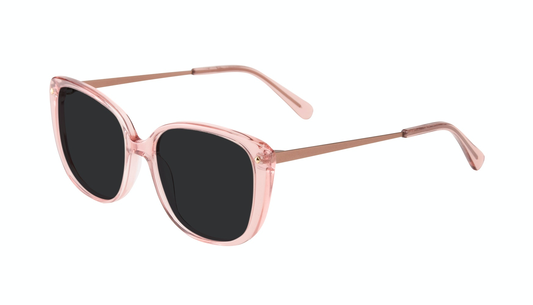Affordable Fashion Glasses Square Sunglasses Women Japonisme rose Tilt