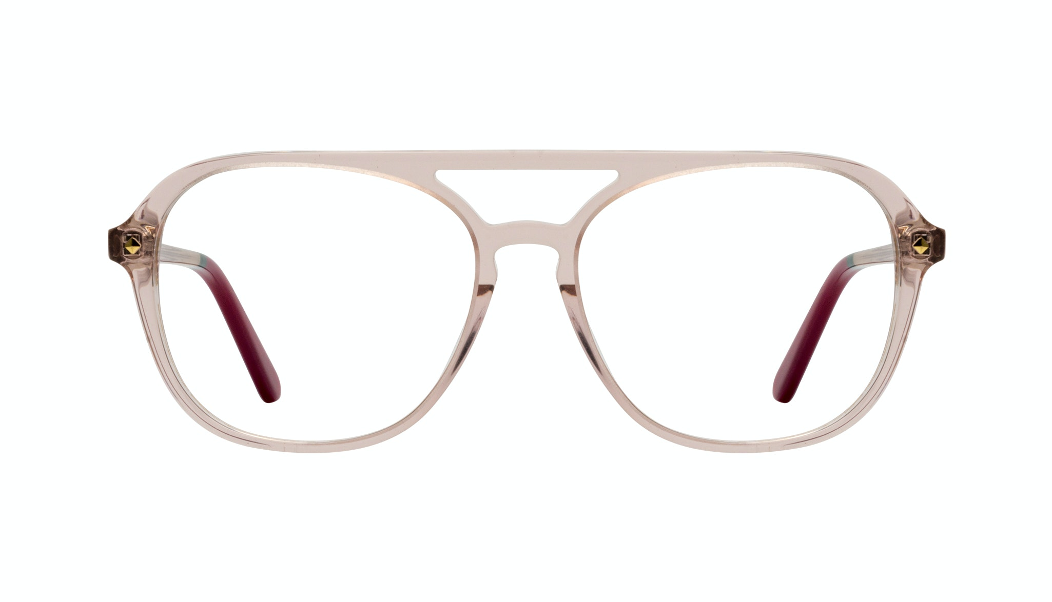 Affordable Fashion Glasses Aviator Eyeglasses Women Jerry Rose
