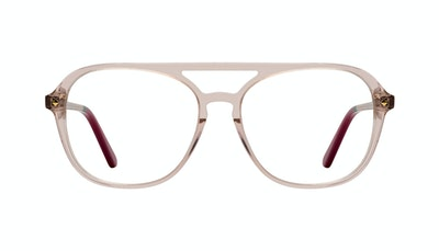 Affordable Fashion Glasses Aviator Eyeglasses Women Jerry Rose Front