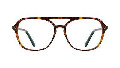 Affordable Fashion Glasses Aviator Eyeglasses Women Jerry Tortoise Front