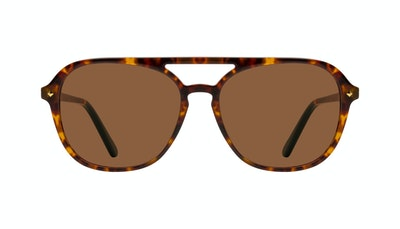 Affordable Fashion Glasses Aviator Sunglasses Women Jerry Tortoise Front