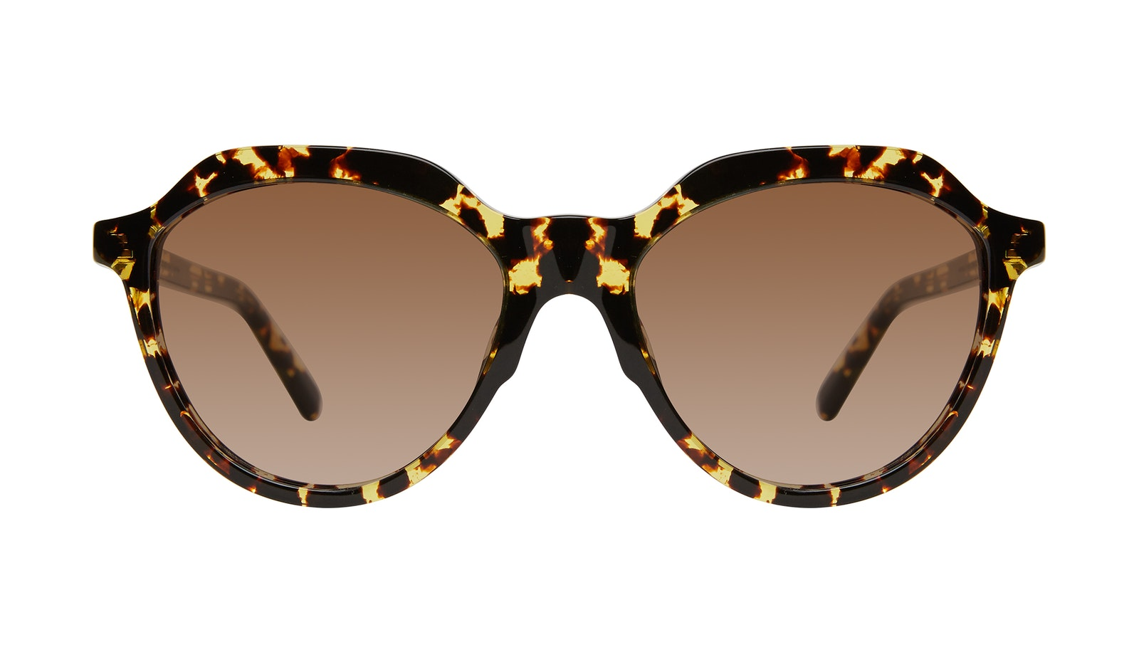 Affordable Fashion Glasses Round Sunglasses Women Jetsetter Gold Flake
