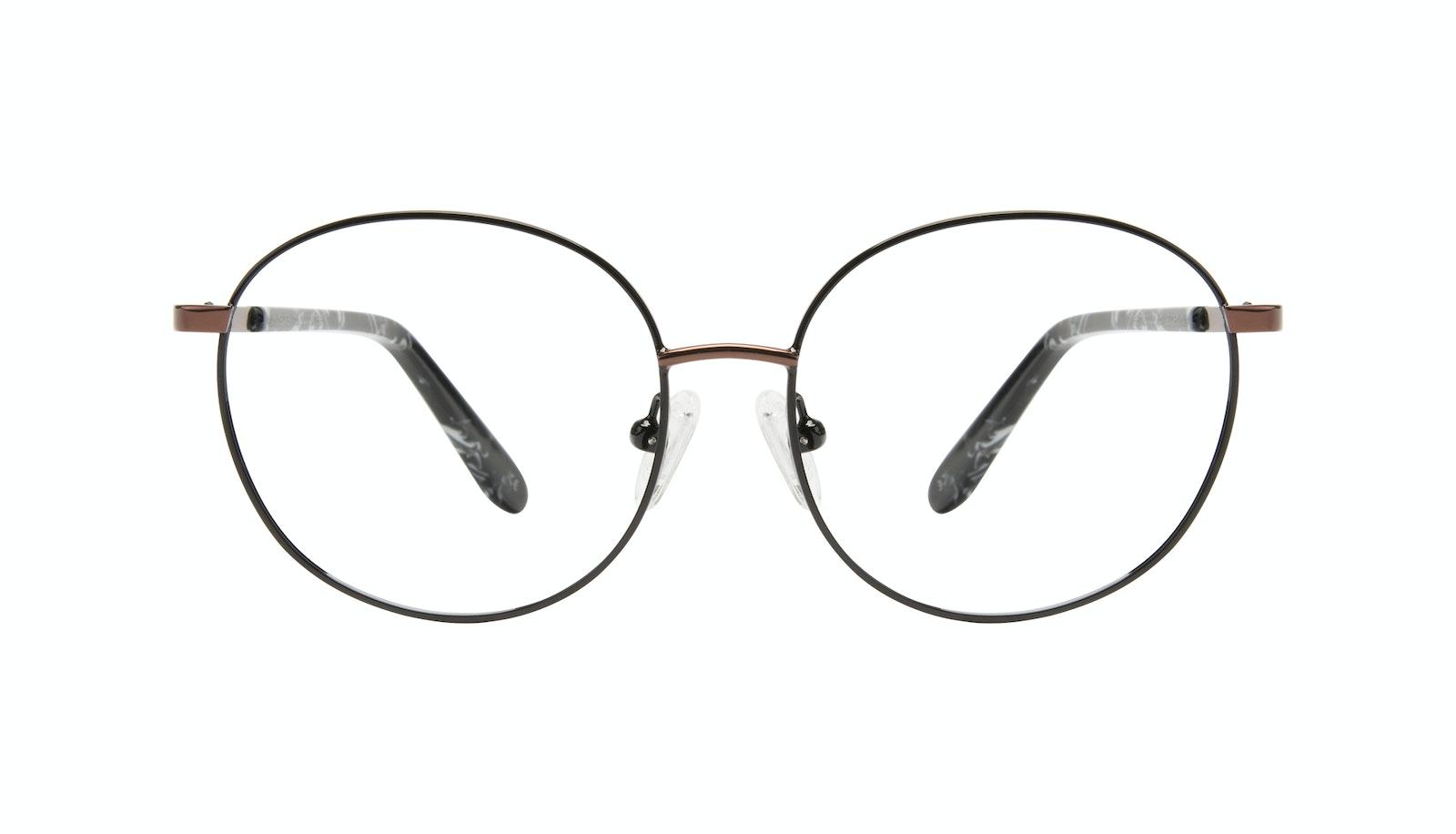 Affordable Fashion Glasses Round Eyeglasses Women Joy Petite Black Copper