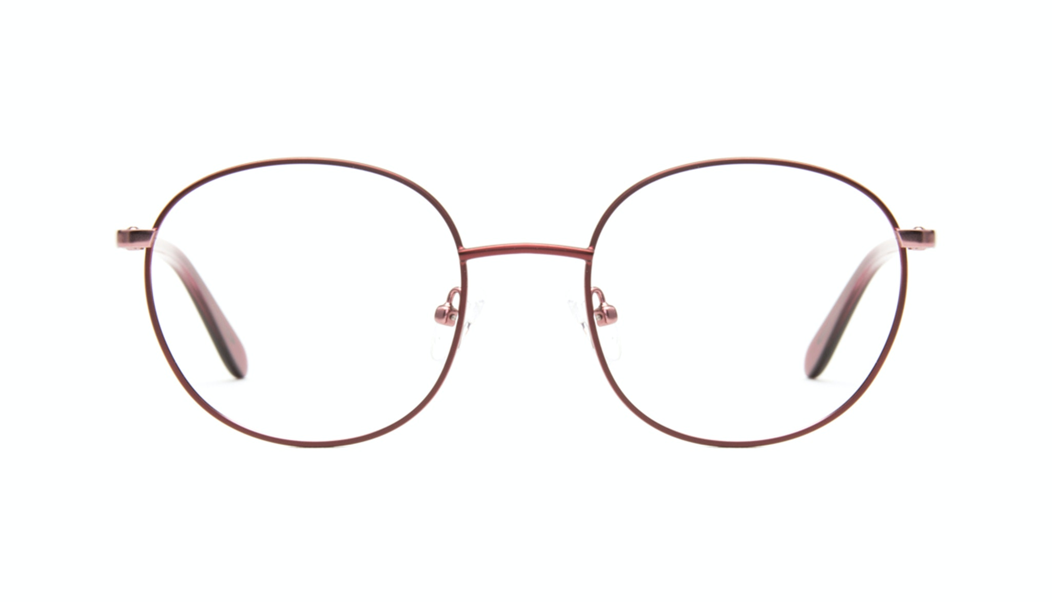 Affordable Fashion Glasses Round Eyeglasses Women Joy Cranberry