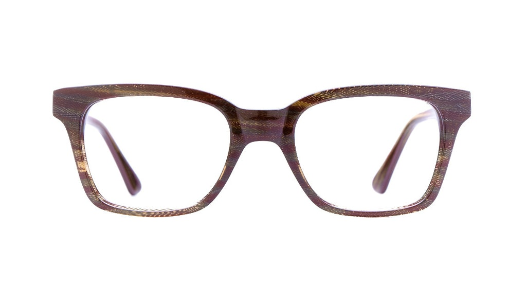 Affordable Fashion Glasses Square Eyeglasses Women Jungle Chic Autumn Chevron Front
