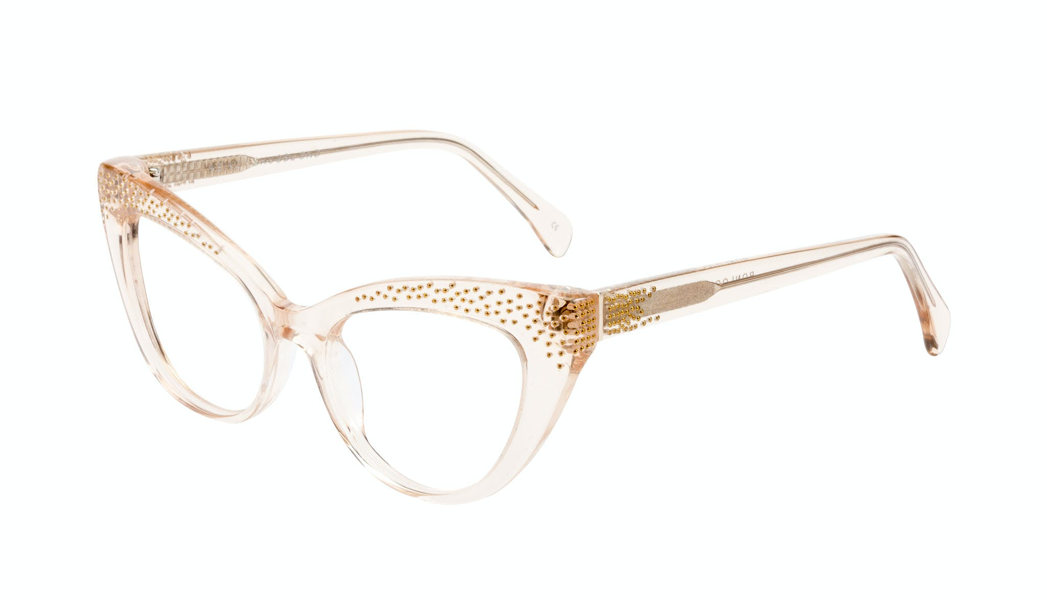 Affordable Fashion Glasses Cat Eye Daring Cateye Eyeglasses Women Keiko Shug Blond Tilt