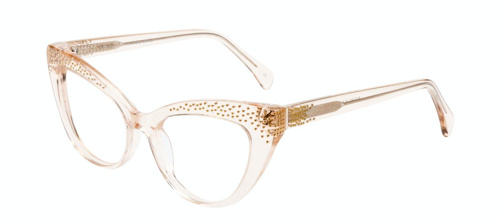 93f17c0d342 Affordable Fashion Glasses Cat Eye Daring Cateye Eyeglasses Women Keiko  Shug Blond Tilt