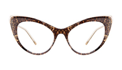 Affordable Fashion Glasses Cat Eye Eyeglasses Women Keiko-Chan Leo Front