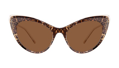Affordable Fashion Glasses Cat Eye Sunglasses Women Keiko-Chan Leo Front