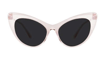 Affordable Fashion Glasses Cat Eye Sunglasses Women Keiko-Chan Sakura Front