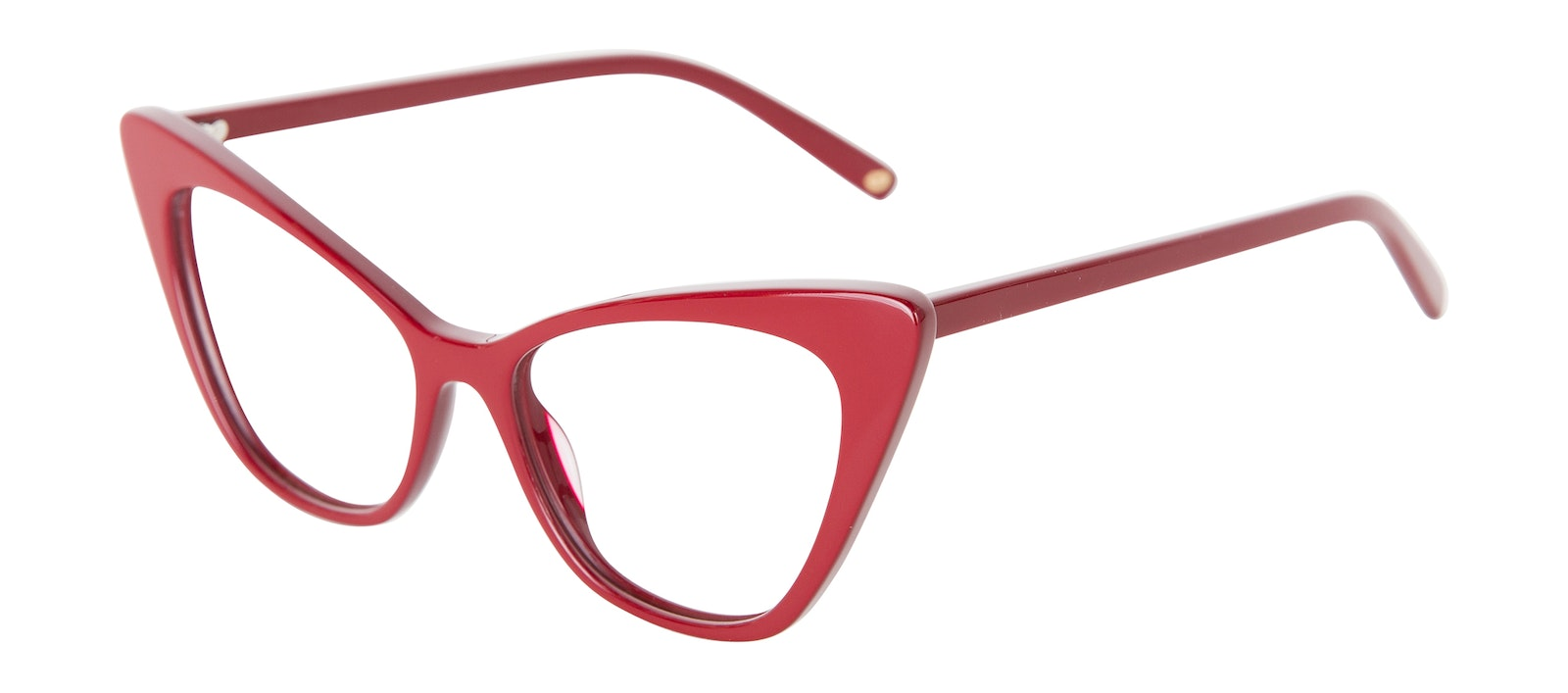 Affordable Fashion Glasses Cat Eye Eyeglasses Women Keiko Lynn Ryder Red Tilt
