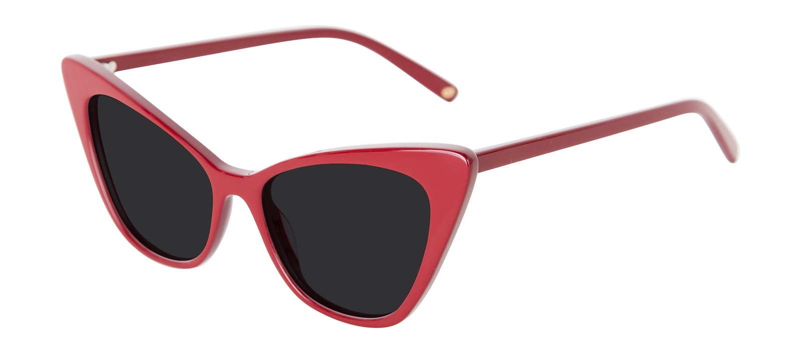 Affordable Fashion Glasses Cat Eye Sunglasses Women Keiko Lynn Ryder Red Tilt