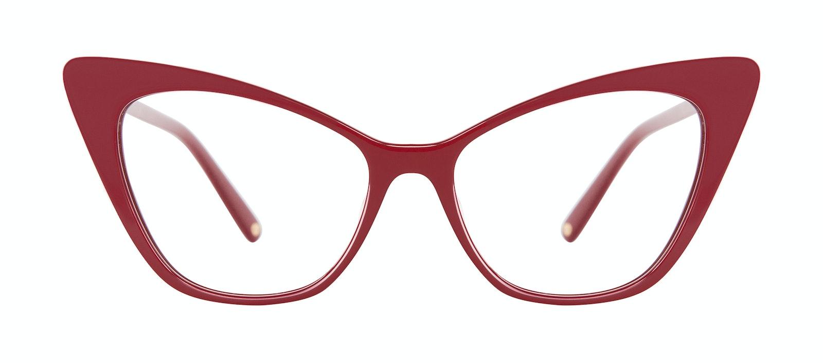 Lunettes tendance Oeil de chat Lunettes de vue Femmes Keiko Lynn Ryder Red Face