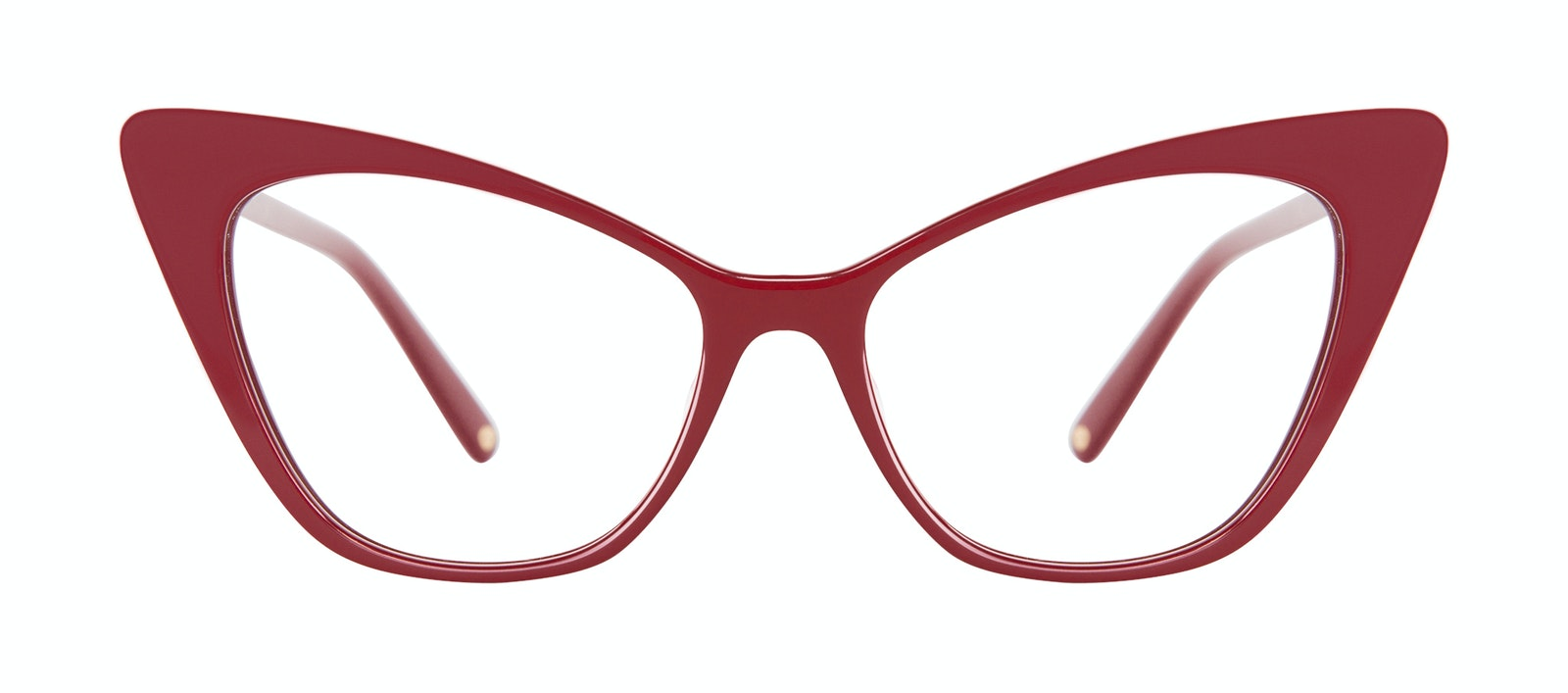 Affordable Fashion Glasses Cat Eye Eyeglasses Women Keiko Lynn Ryder Red Front