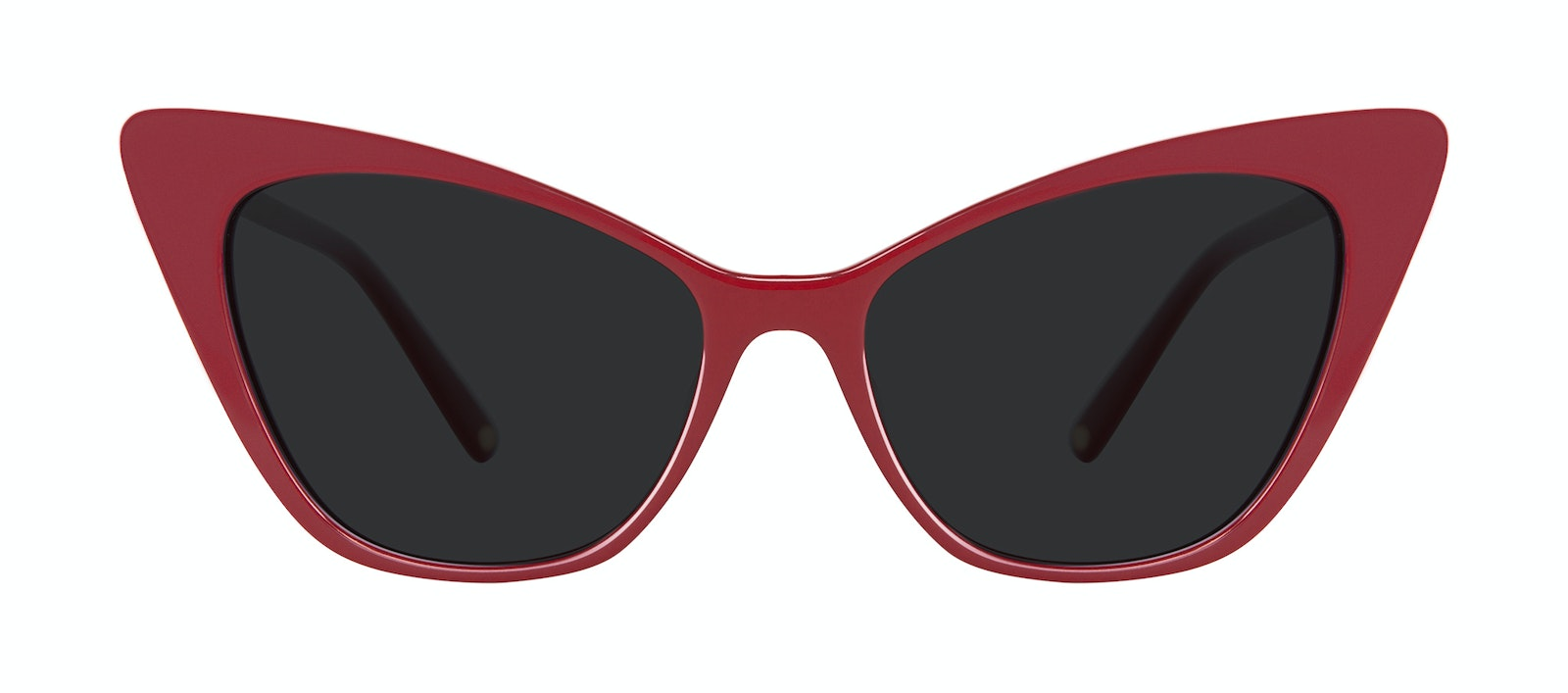 Affordable Fashion Glasses Cat Eye Sunglasses Women Keiko Lynn Ryder Red Front