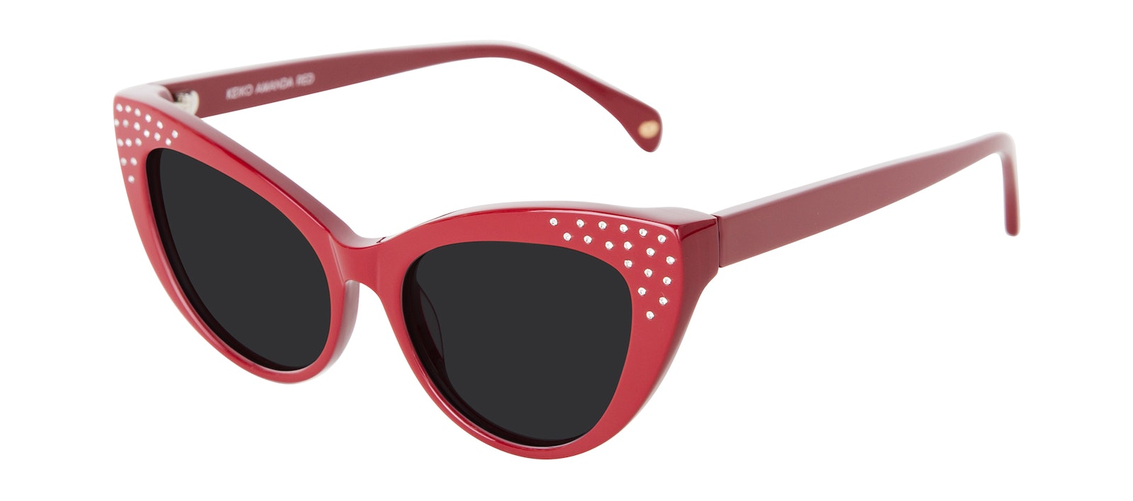 Affordable Fashion Glasses Cat Eye Daring Cateye Sunglasses Women Keiko Amanda Red Tilt