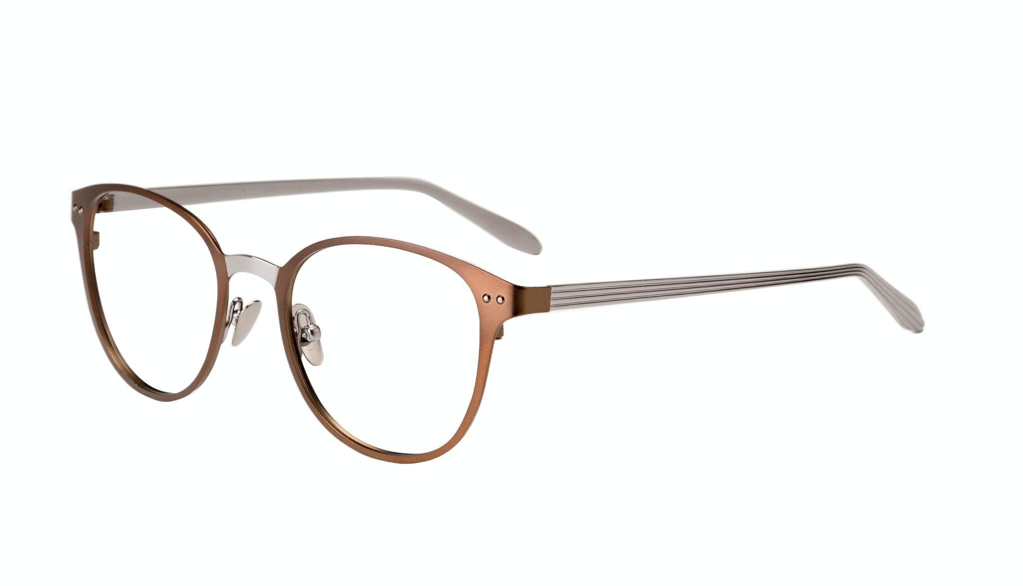 Affordable Fashion Glasses Rectangle Eyeglasses Women Kind Hazel Silver Tilt