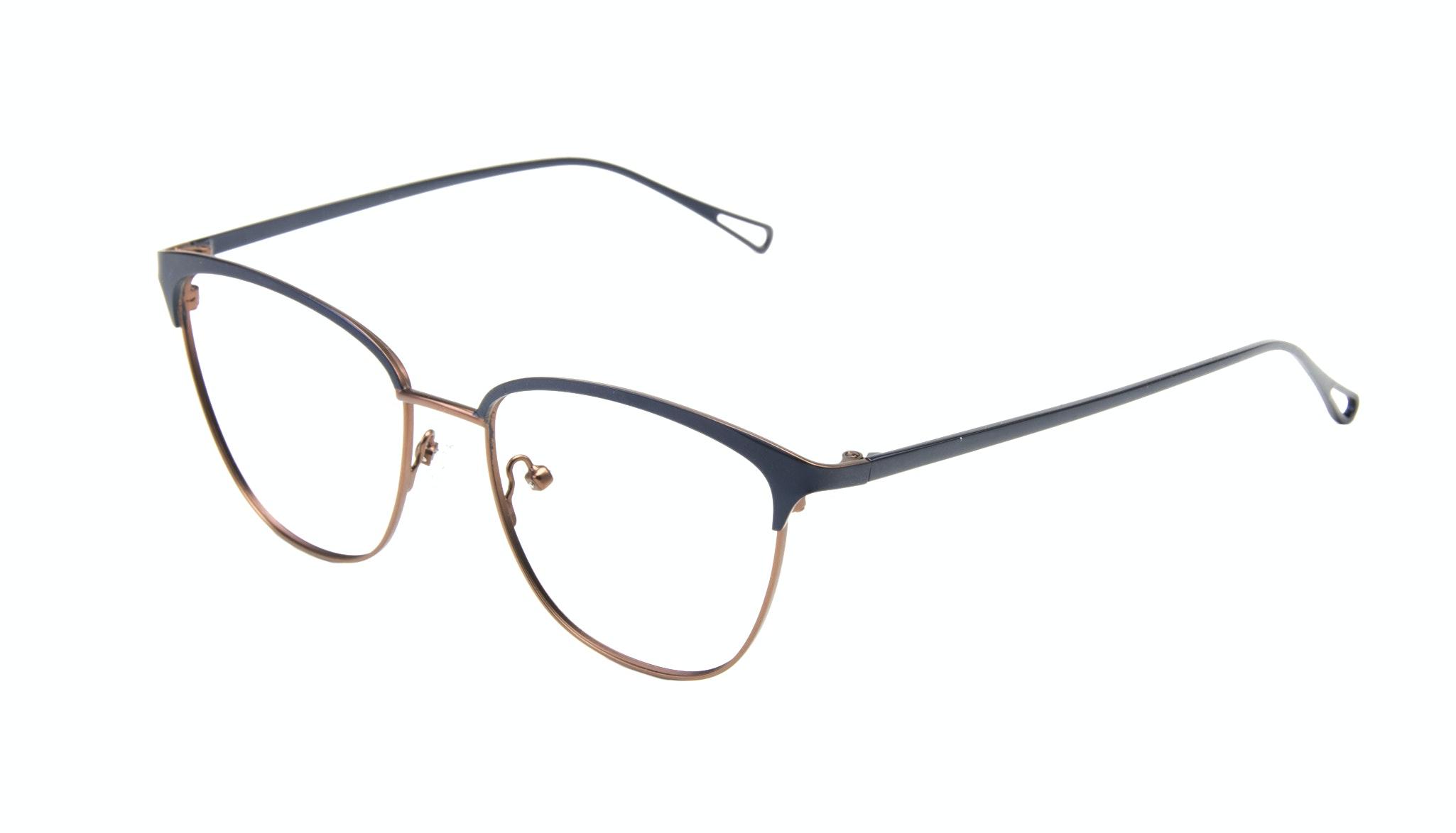 Affordable Fashion Glasses Cat Eye Square Eyeglasses Women Lagoon  Marine Tilt