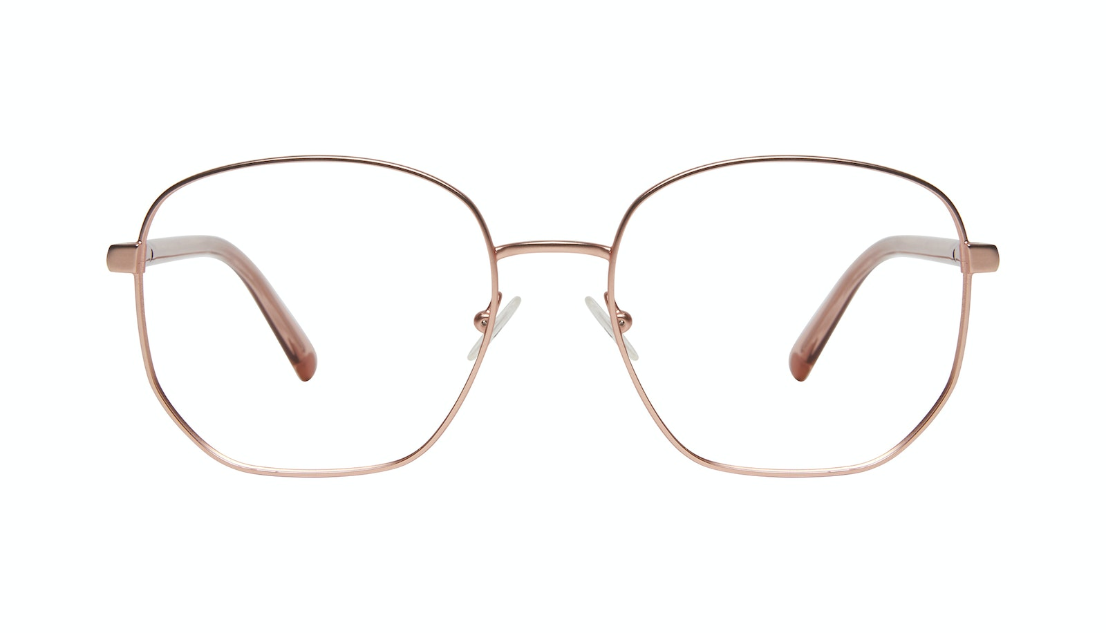Affordable Fashion Glasses Round Eyeglasses Women Laïka Rose Gold Matte