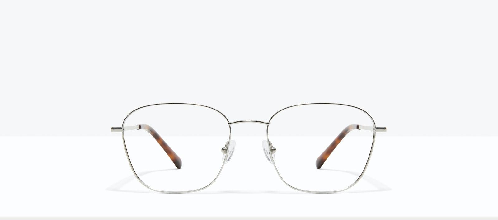 Affordable Fashion Glasses Square Eyeglasses Women Lane Platinum Front