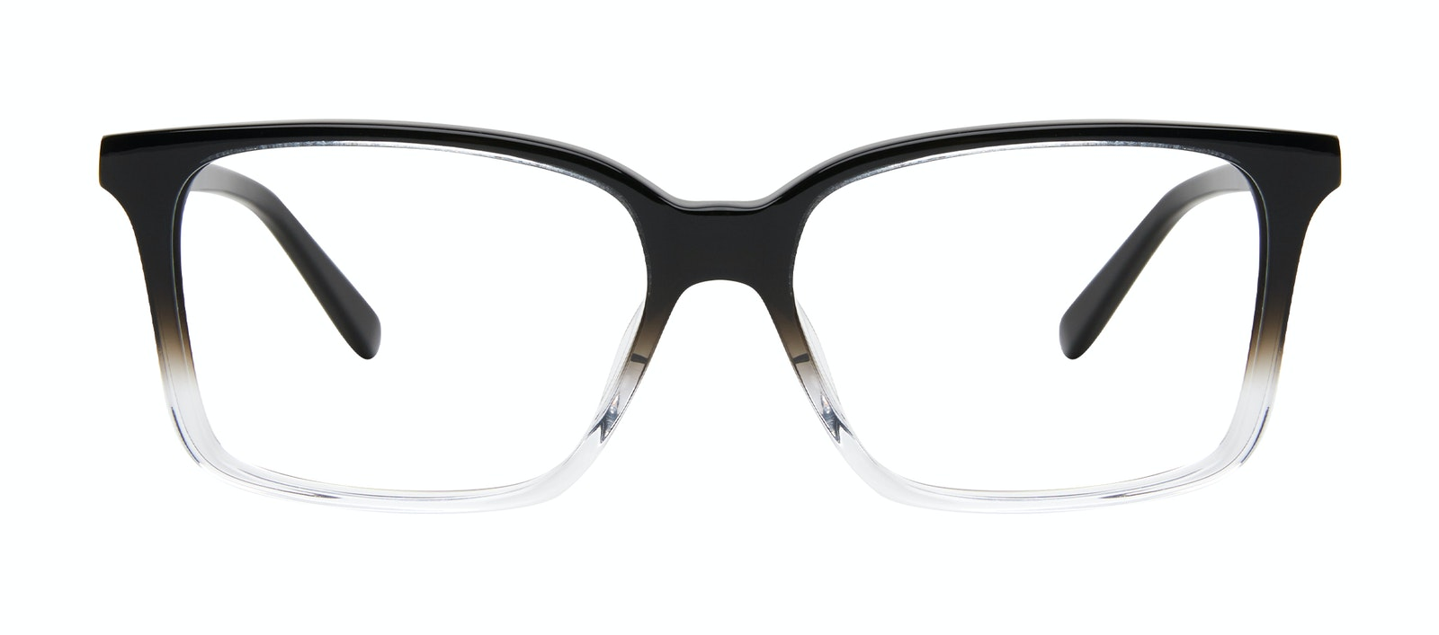 Lunettes tendance Carrée Lunettes de vue Hommes Lapel Onyx Clear Face