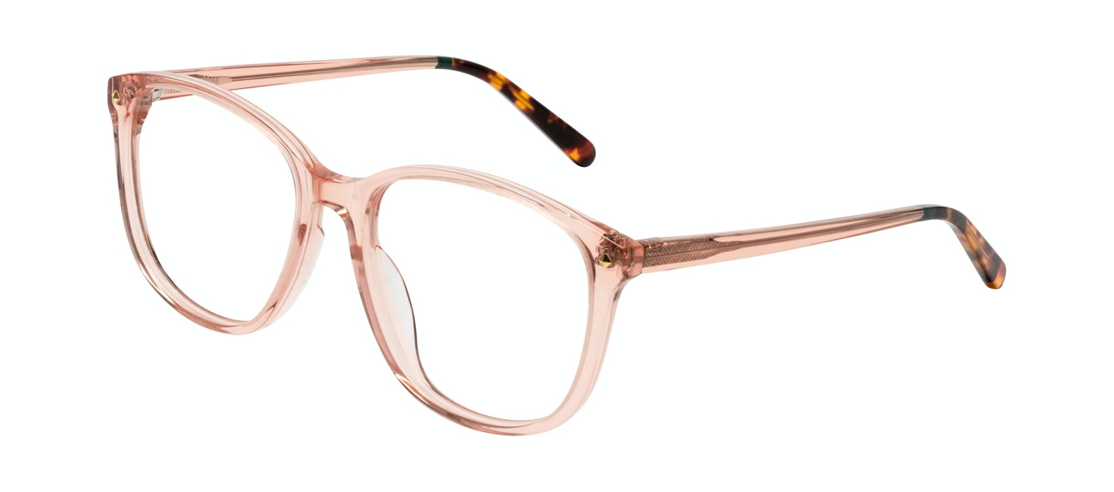 Affordable Fashion Glasses Square Eyeglasses Women Lauren Peach Tilt