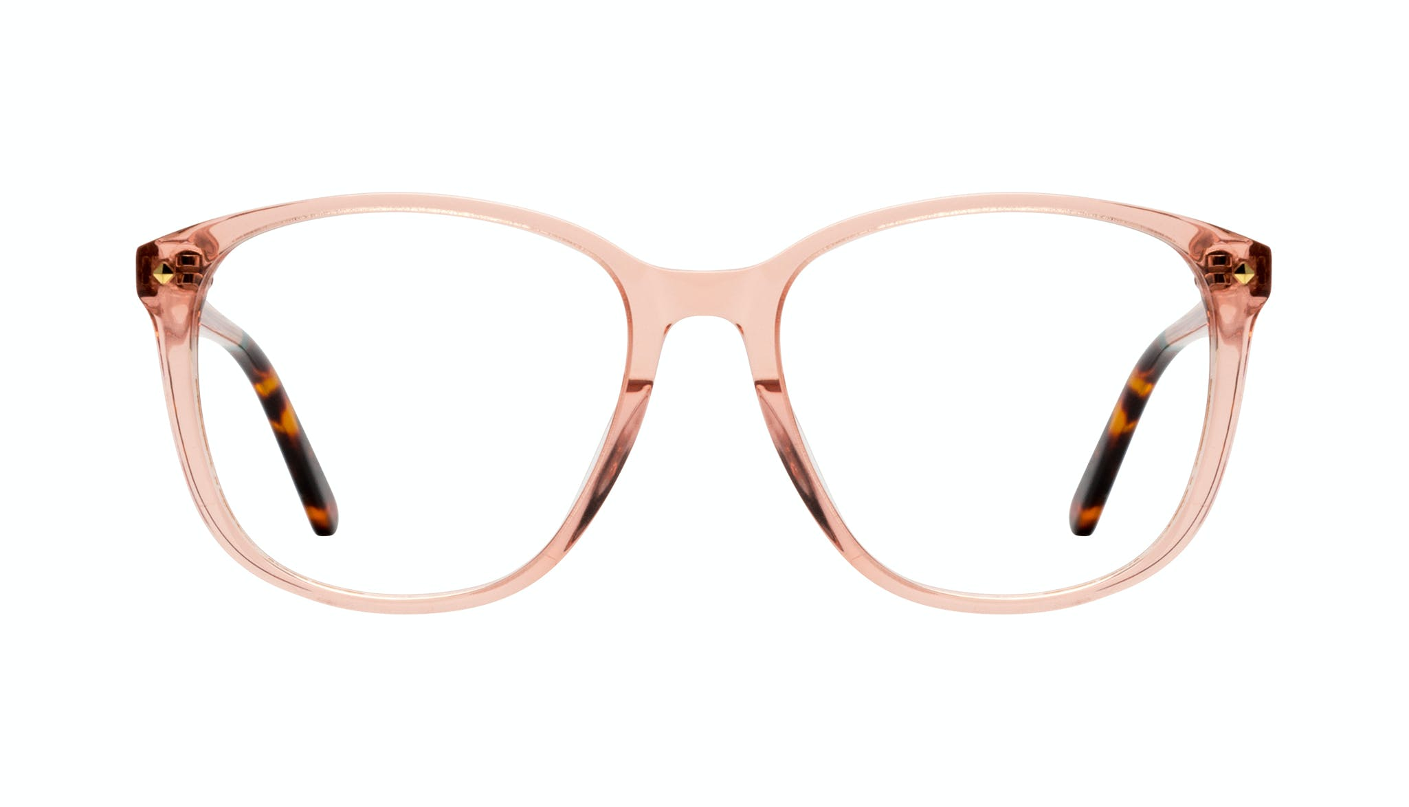 Affordable Fashion Glasses Square Eyeglasses Women Lauren Peach Front