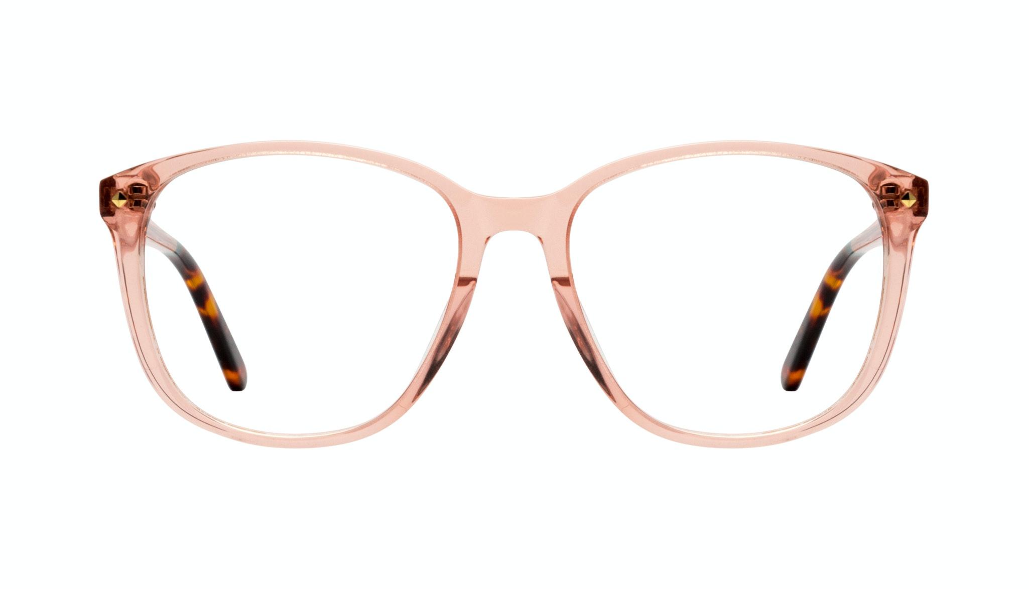 Affordable Fashion Glasses Square Eyeglasses Women Lauren Peach