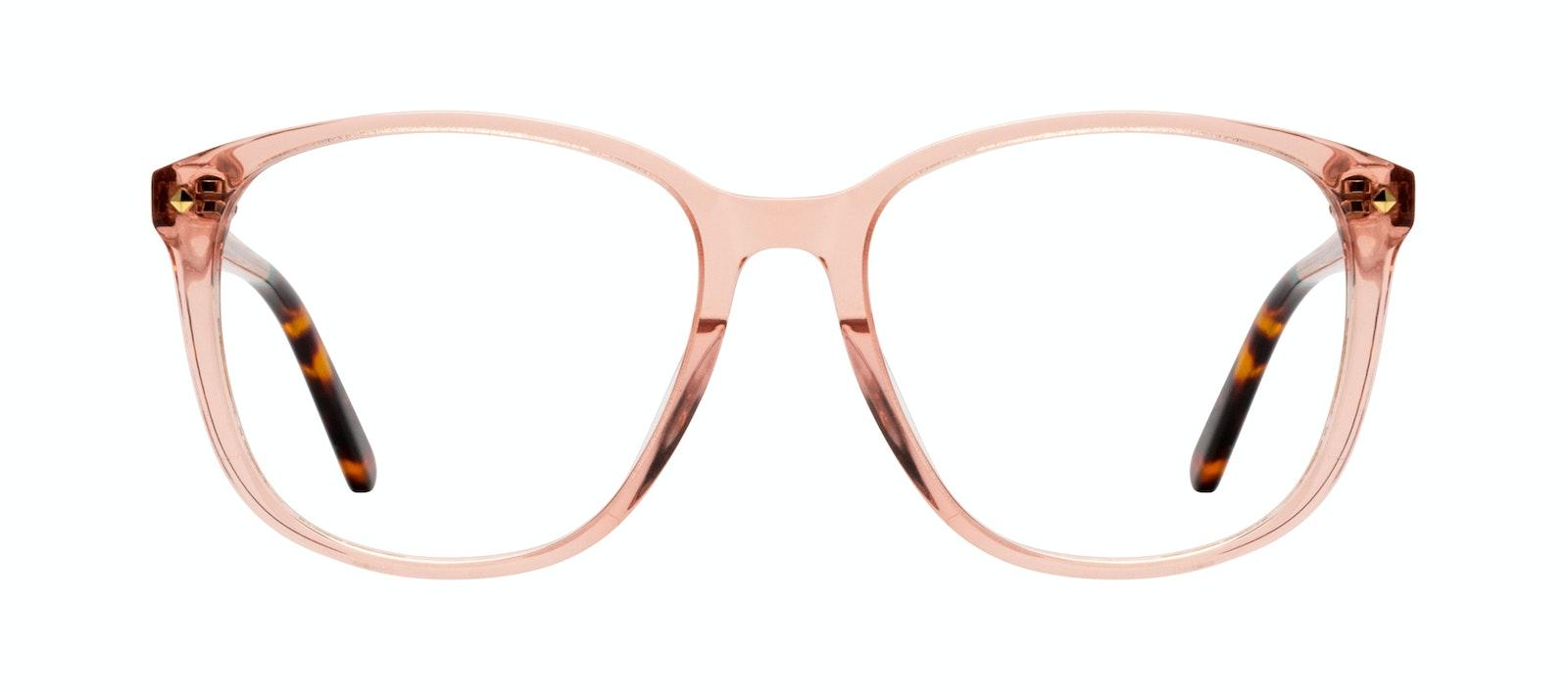 Affordable Fashion Glasses Square Eyeglasses Women Lauren Peach Front