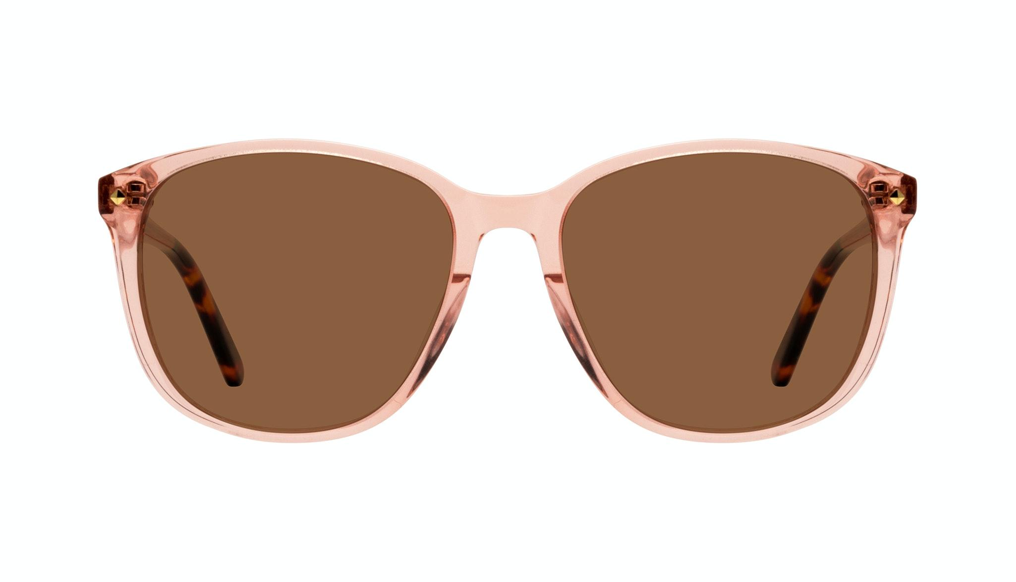 Affordable Fashion Glasses Square Sunglasses Women Lauren Peach