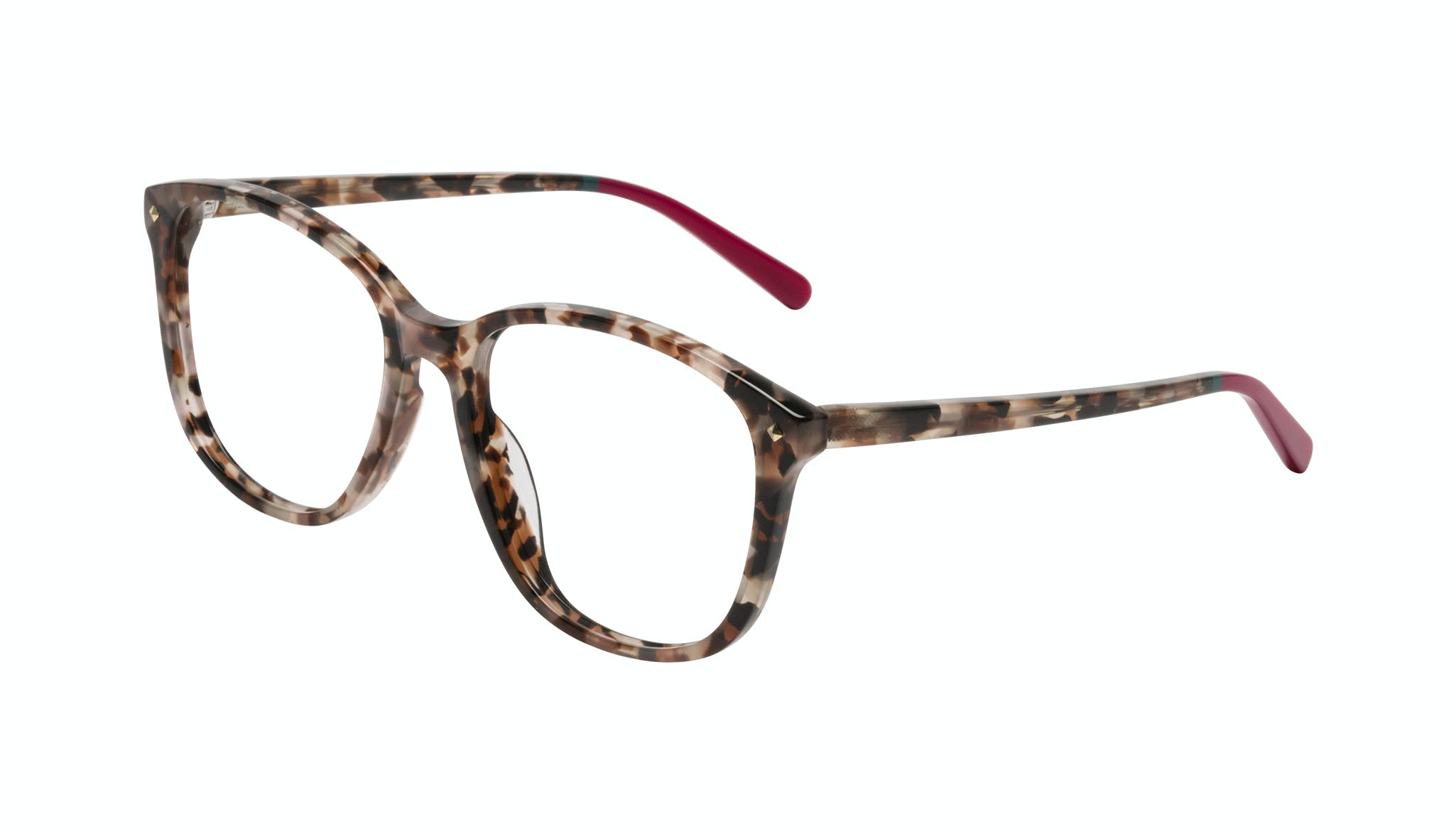 Affordable Fashion Glasses Square Eyeglasses Women Lauren Pink Tortoise Tilt