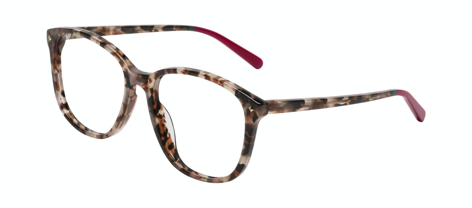 Affordable Fashion Glasses Square Eyeglasses Women Lauren Pink Tortoise Tilt