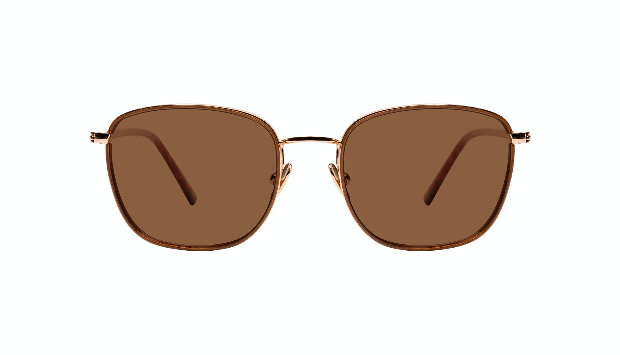 Affordable Fashion Glasses Rectangle Sunglasses Women Lawrence Santal