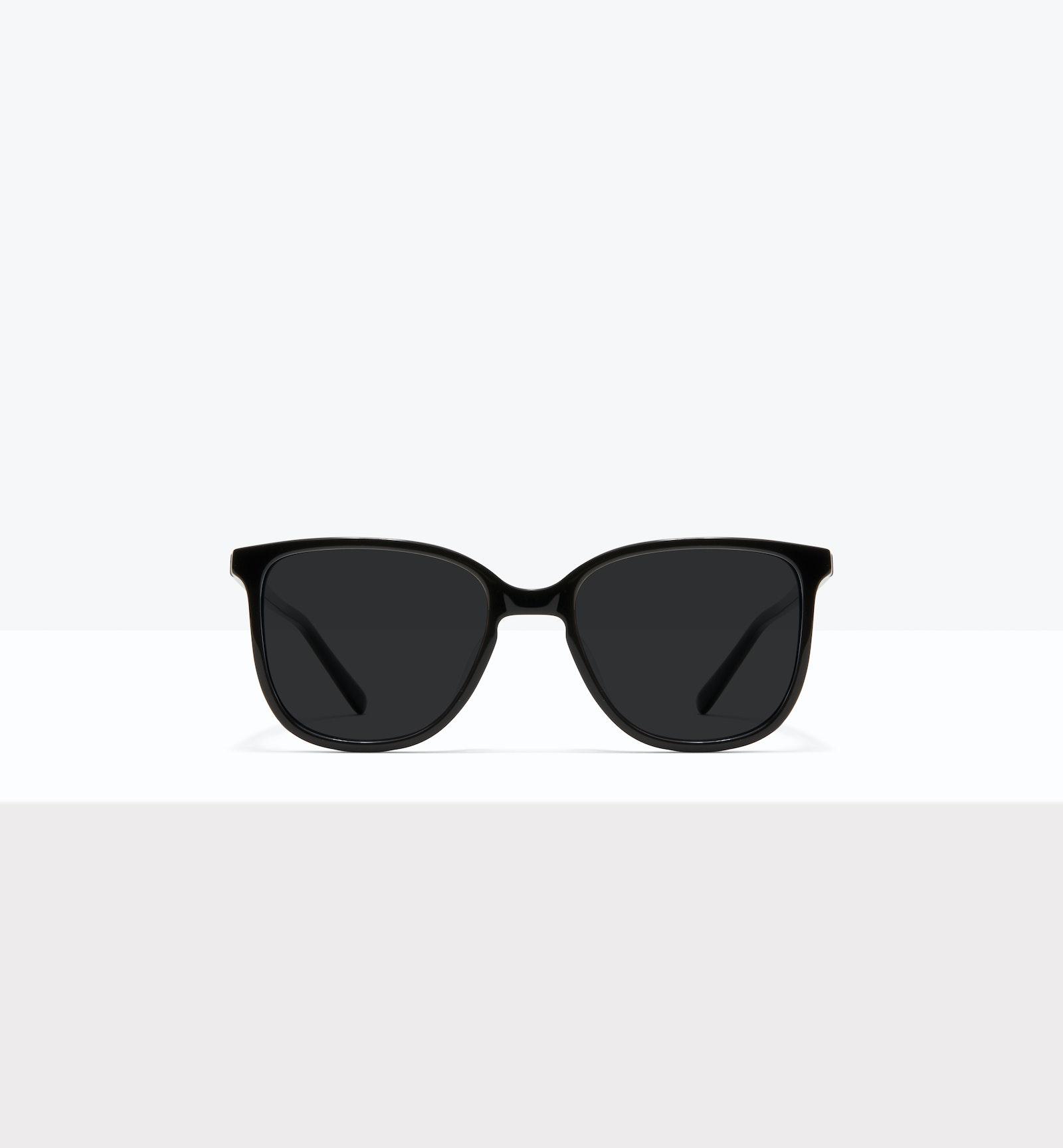 Affordable Fashion Glasses Square Sunglasses Women Lead XL Black