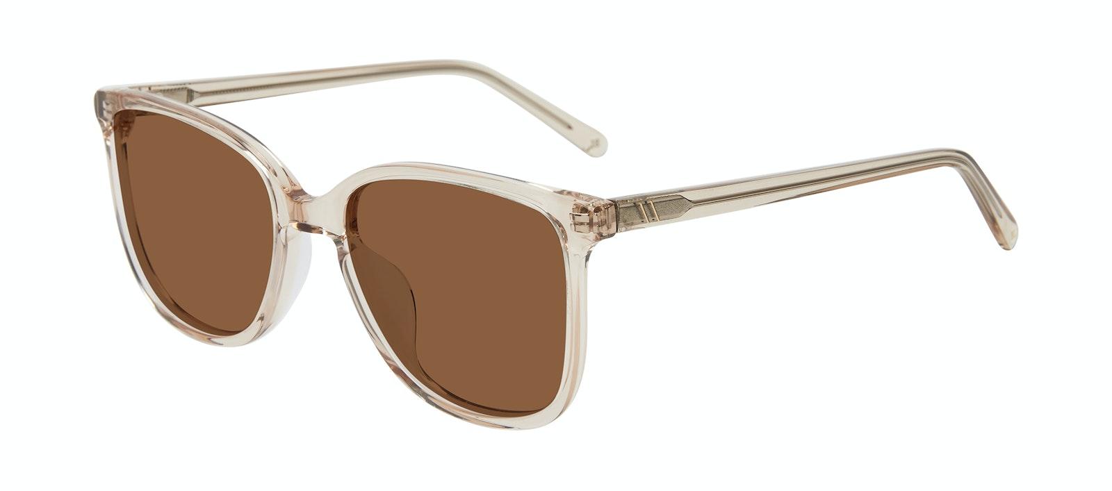 Affordable Fashion Glasses Square Sunglasses Women Lead Blond Tilt