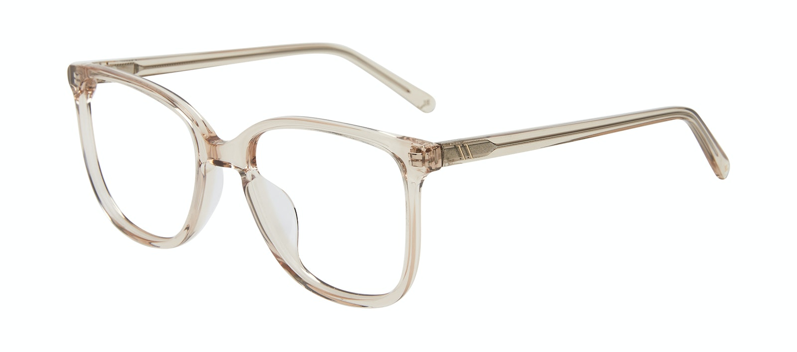Affordable Fashion Glasses Square Eyeglasses Women Lead Blond Tilt