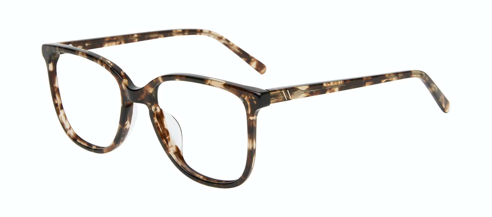 Affordable Fashion Glasses Square Eyeglasses Women Lead Leopard Tilt