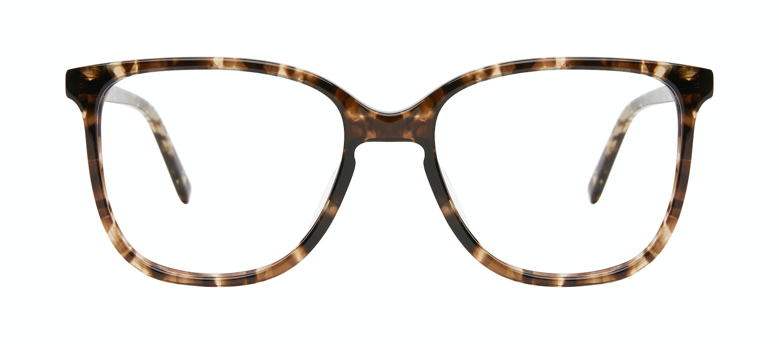 Affordable Fashion Glasses Square Eyeglasses Women Lead Leopard Front