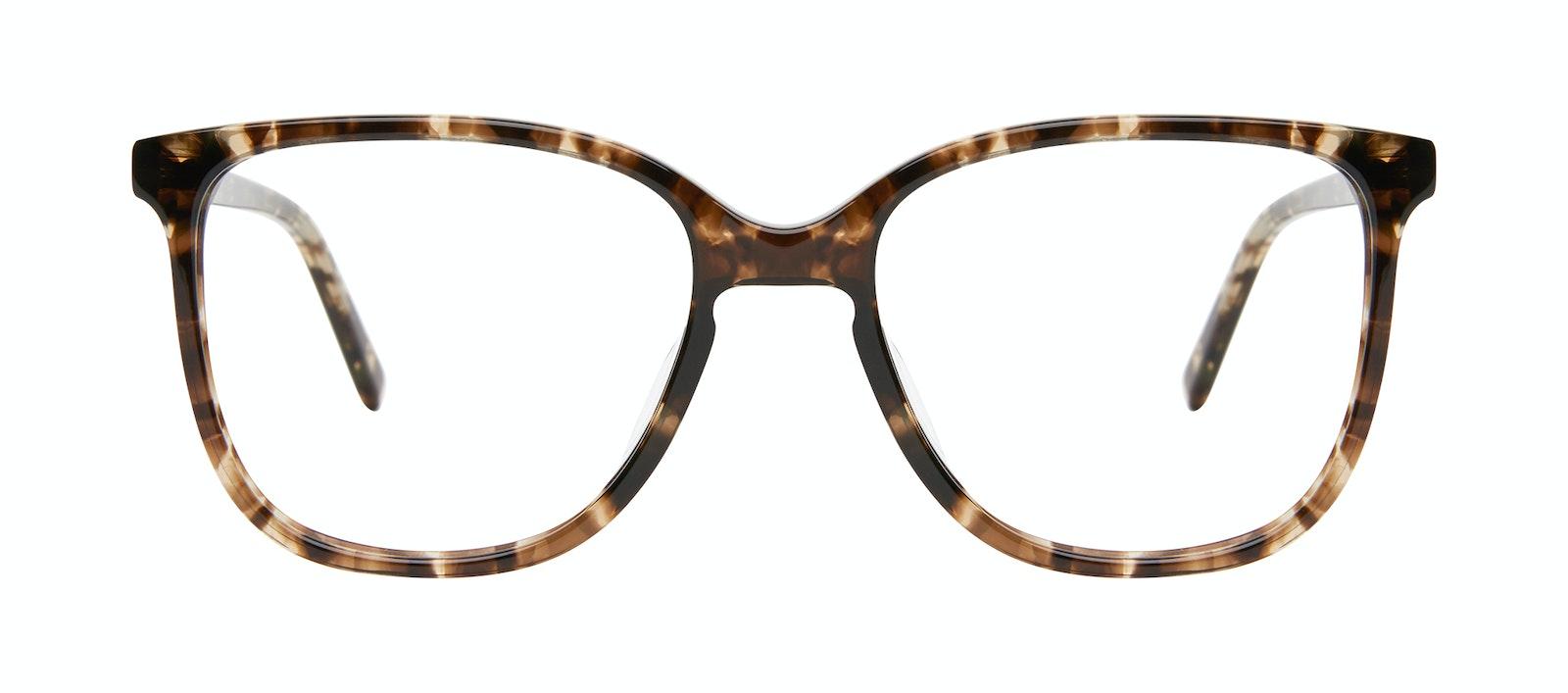 Lunettes tendance Carrée Lunettes de vue Femmes Lead Leopard Face